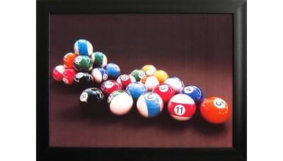 Картина №10: бильярдные шары