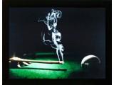 Картина №6: кий в виде дымящейся сигареты