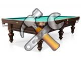 Ремонт бильярдных столов